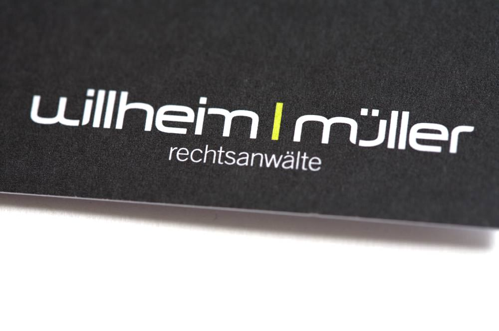 Willheim Müller Rechtsanwälte WMLaw Corporate Design C21