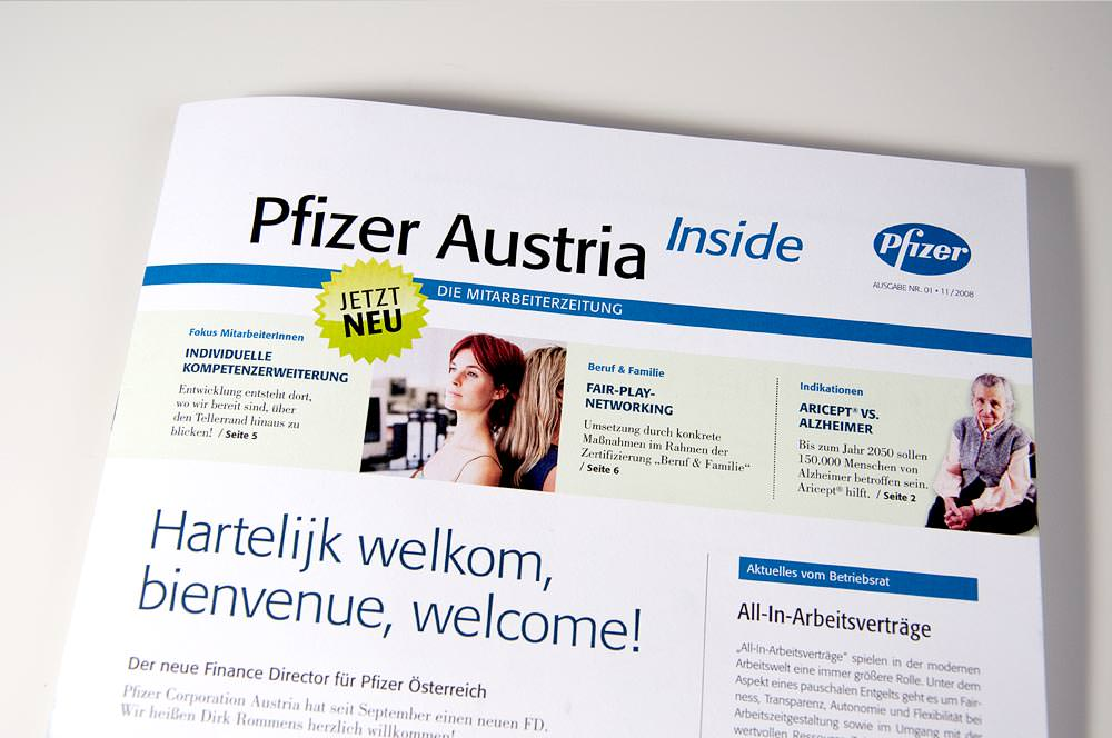 Pfizer Austria Corporate Design C21