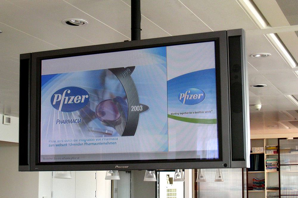 Pfizer Inouse TV Multimedia C21