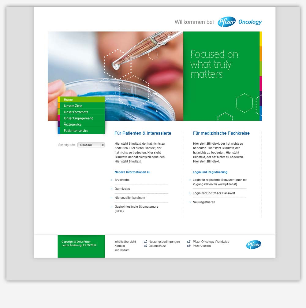 Pfizer Oncology Website C21