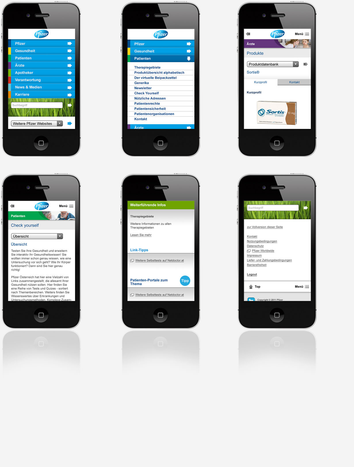 Pfizer Mobile Website C21