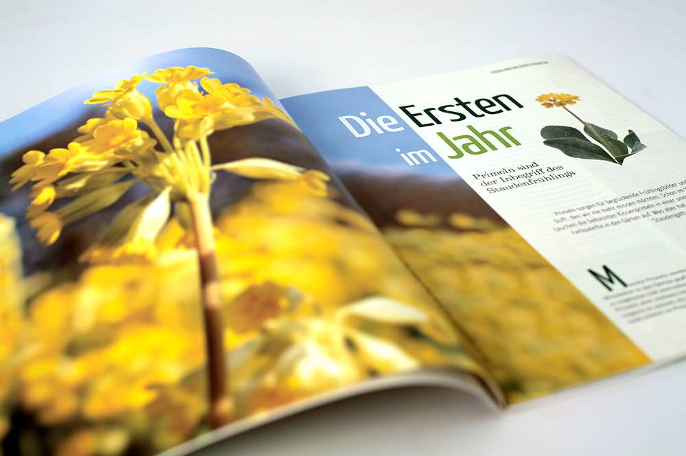 Magazin Natur im Garten C21 Graphic Design