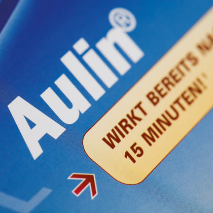 CSC Pharma Aulin Werbemittel Design C21