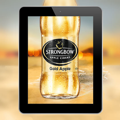 C21 new media design Wien Online Agentur Strongbow iPad App Quiz