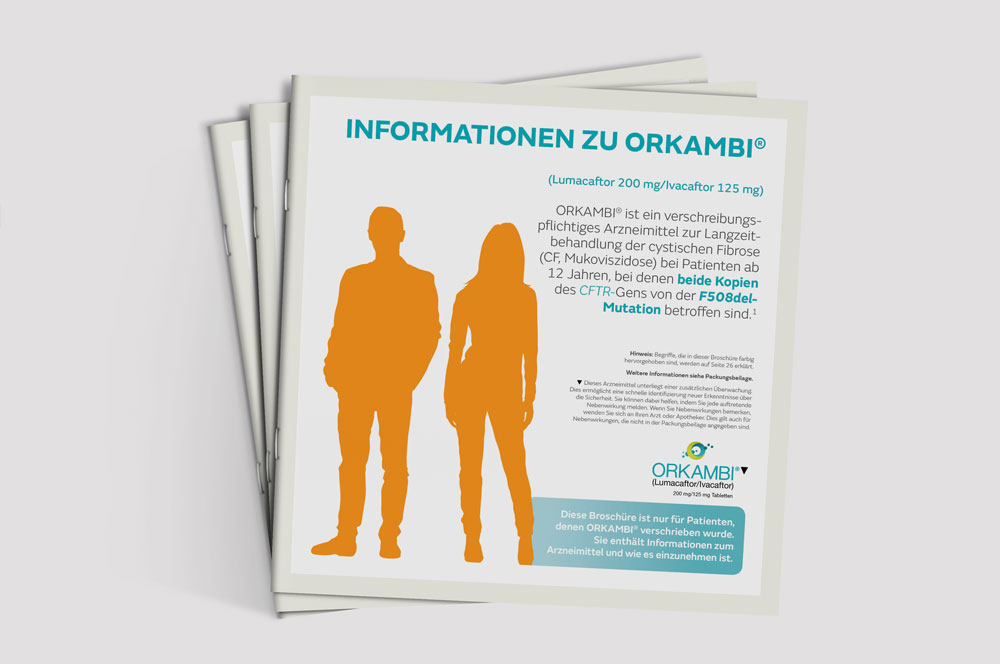 Vertex Orkambi Cystische Fibrose Pharma Marketing Agentur C21 new media design Wien