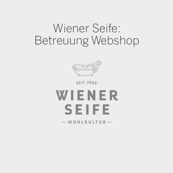Webshop-Betreuung, E-commerce, Wiener Seife, C21 new media design, Online Agentur, Webagentur, Wien