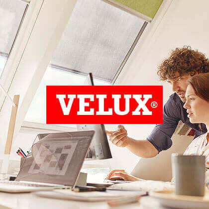 Velux C21 new media design Online Kampagne Hitzeschutz Website Banner SEO Social Media Facebook Instagram Twitter