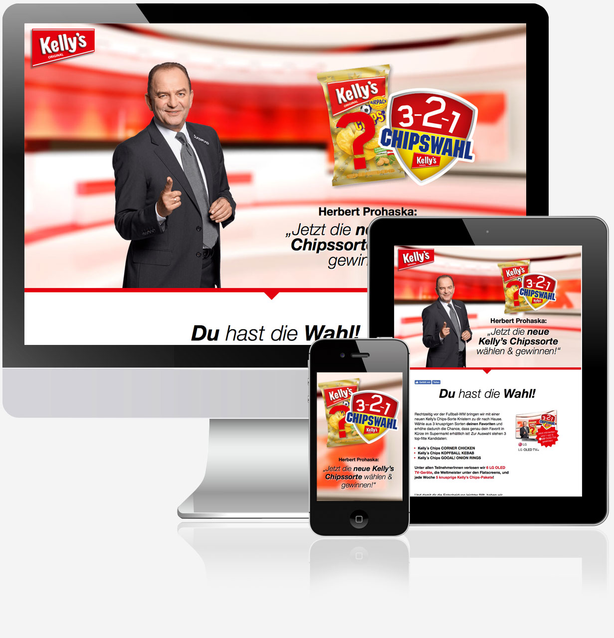 Kellys 321 Chipswahl Referenz C21 new media design Online Agentur Digitalagentur Webagentur Wien
