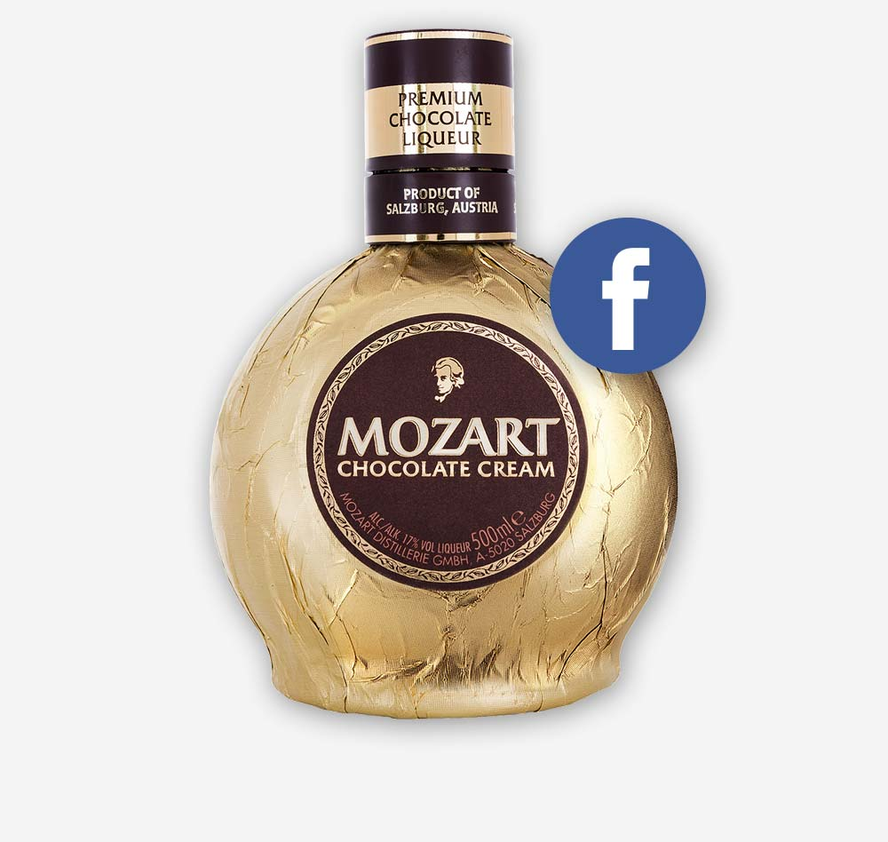 Mozart Chocolate Cream Schokolade Likoer C21 new media design Kunde Online Agentur Social Media Agentur Digitalagentur Wien Facebook