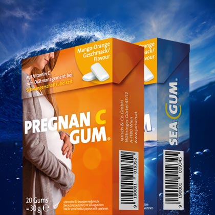 Jarisch Sea Gum Pragna C Gum Social Media Betreuung C21 new media design Social Media Agentur Onlineagentur Digitalagentur Wien