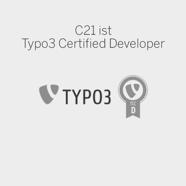 C21 new media design Online Agentur Wien Typo3 certified developer Digitalagentur
