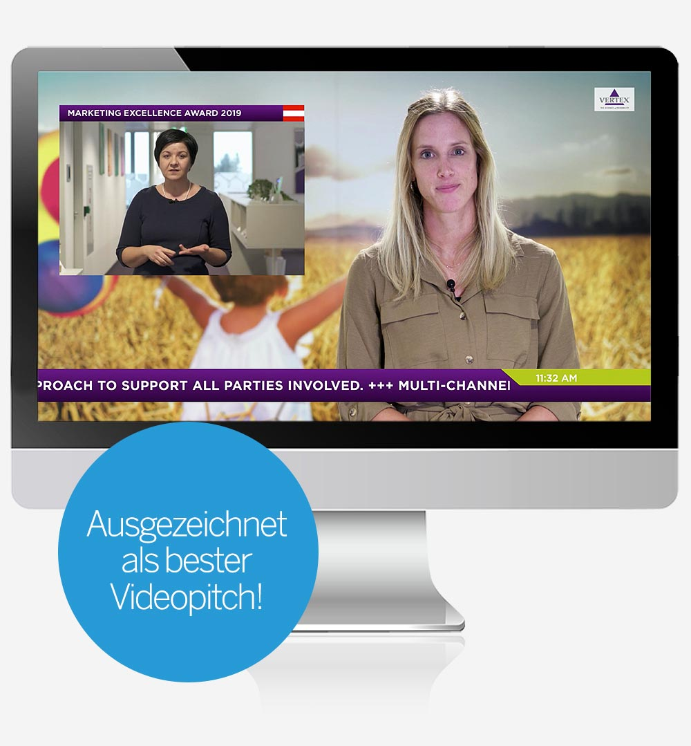 Vertex Pharma Austria Einreichvideo Videopitch Marketing Excellence Awards C21 new media design Online Agentur Digitalagentur Webagenur Wien