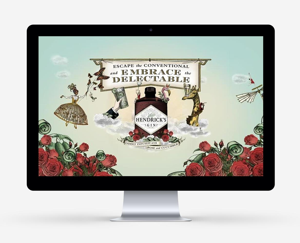 Hendricks Gin, Social Media, C21 new media design, Wien, Online Agentur, Webagentur, Social Media Agentur, Digitalagentur